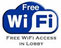 free wi-fi access in lobby